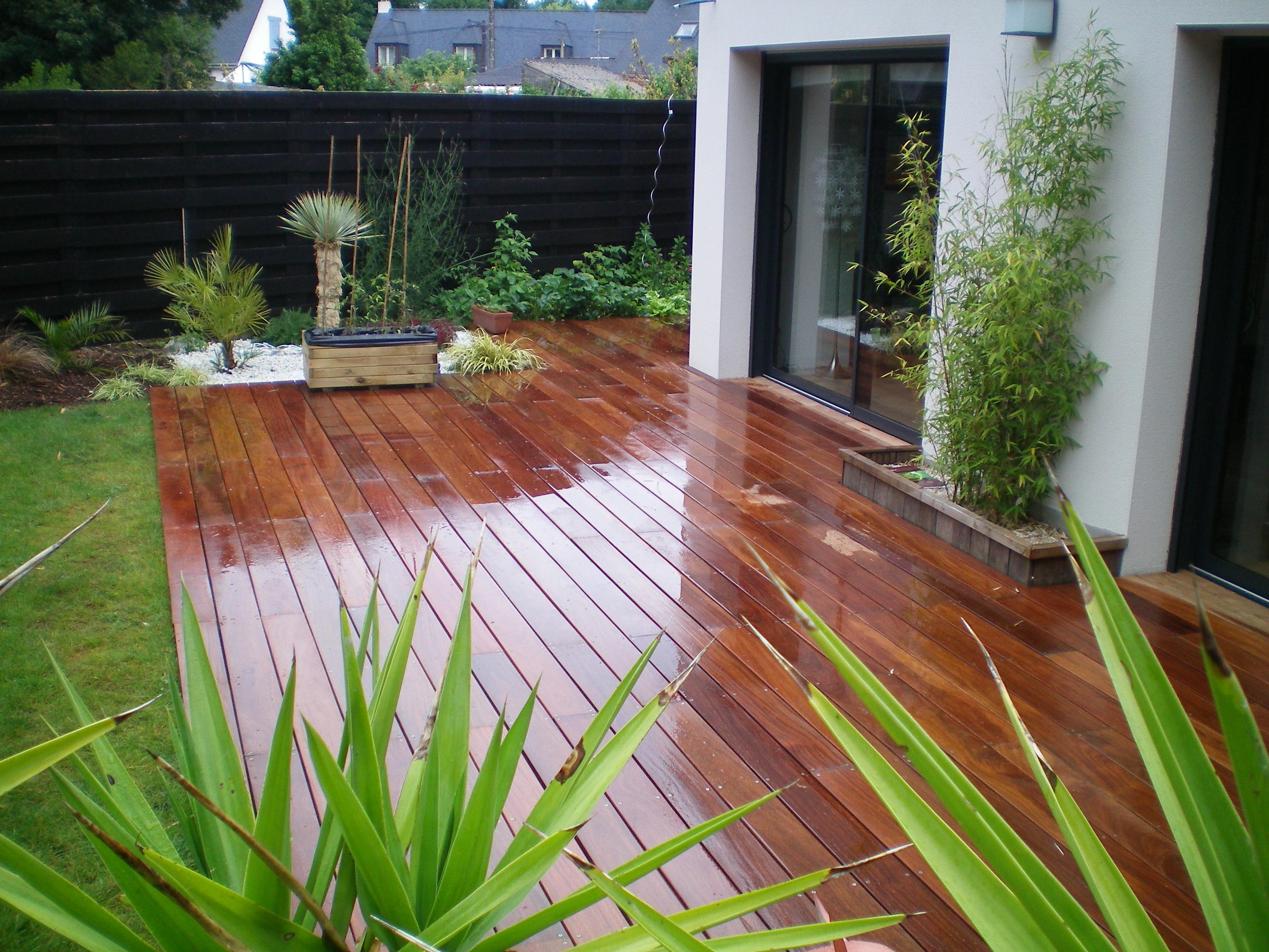 dalle en bois de 100 x 100 cm terrasse en bois. Black Bedroom Furniture Sets. Home Design Ideas