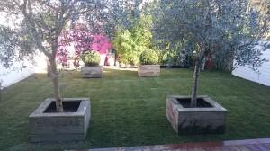AR' Paysage paysagiste Nantes création entretien de jardin aménagement paysager gazon de placage