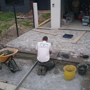 AR' Paysage pavage allée création entretien de jardin aménagement paysager paysagiste Nantes (44)