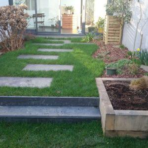 AR' Paysage potager pas japonais création entretien de jardin aménagement paysager paysagiste Nantes (44)